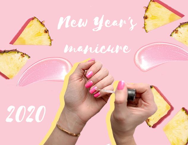 Маникюр на Новый год 2020: стильные идеи + ФОТО