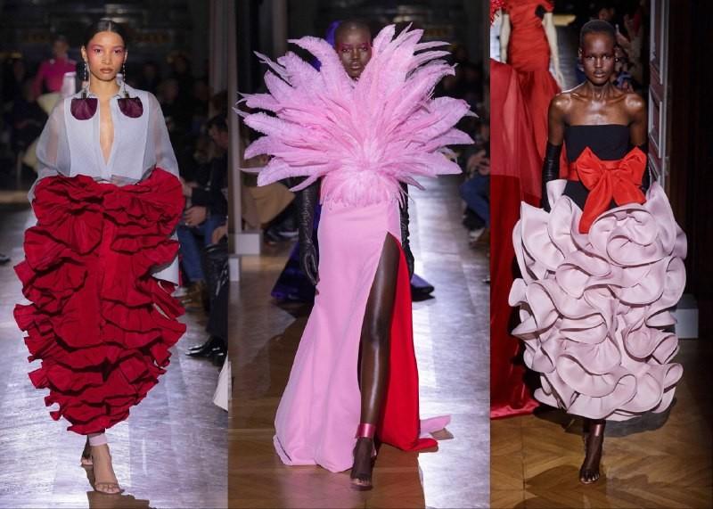 Богемный кутюр: Valentino, Dior, Elie Saab на неделе высокой моды - фото №2