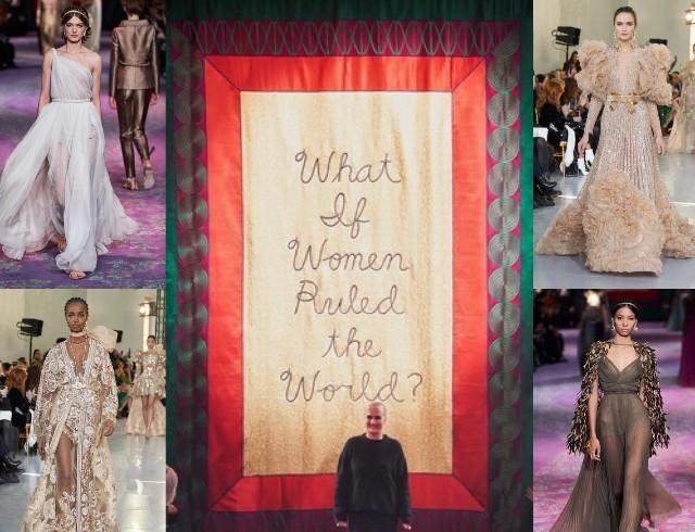 Богемный кутюр: Valentino, Dior, Elie Saab на Неделе высокой моды