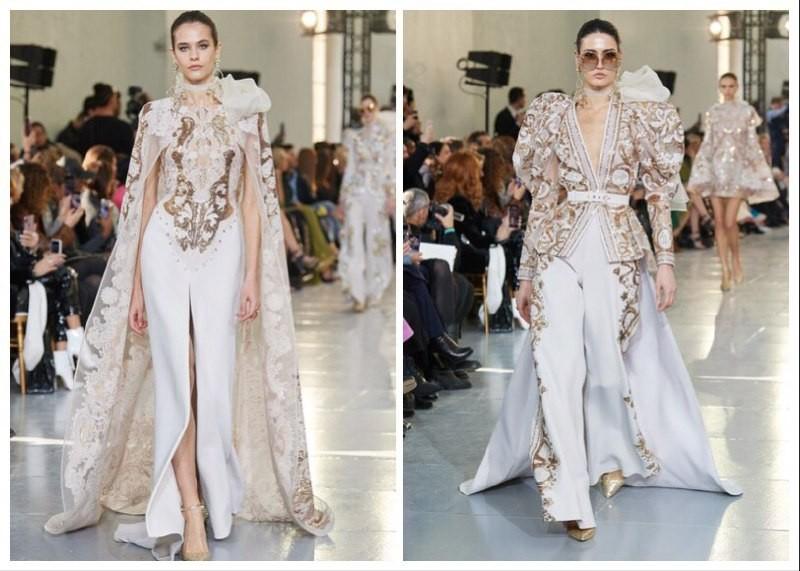 Богемный кутюр: Valentino, Dior, Elie Saab на неделе высокой моды - фото №9