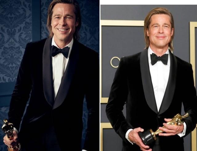 """Свершилось: Брэд Питт получил первый актерский """"Оскар"""" в категории """"Лучший актер второго плана"""" (как это было)"""
