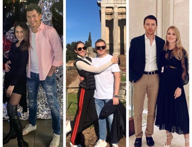 Как звезды отметили День Валентина:Ким Кардашьян, семейство Бэкхемов, Маша Ефросинина и Потап