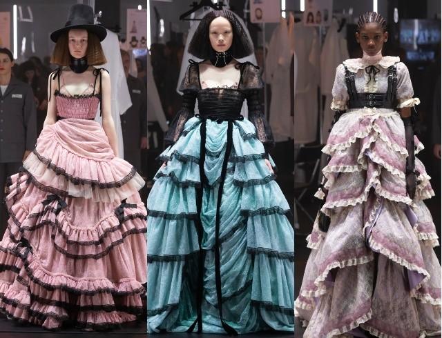Что скрывается за замочной скважиной: ритуалы и готика в новой коллекции Gucci (ФОТО) - фото №5