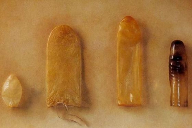 Первые презервативы