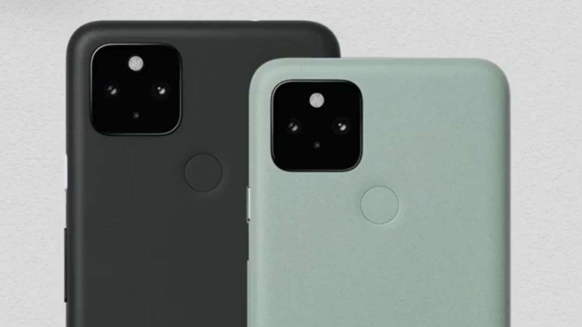 Google смартфоны Pixel 4a и Pixel 5
