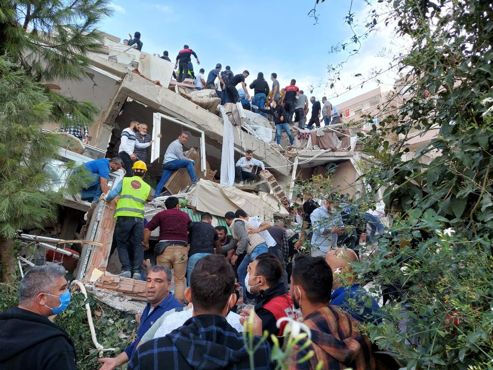 Землетрясение в Турции 2020 фото